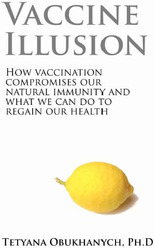 """Predná strana obálky knihy """"Vaccine Illusion"""""""